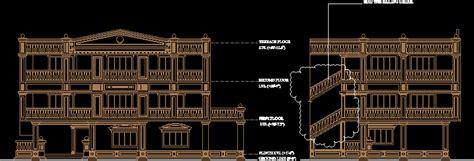 roman style design  elevation  autocad cad
