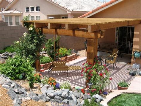 landscaping with pergolas more beautiful backyards from hgtv fans hgtv