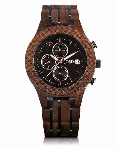Watches Wood Wooden Jord Mens Conway Walnut