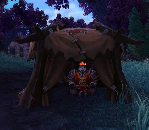 savage leather tent spell world  warcraft