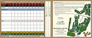 Scorecard - Quail Valley Golf Course