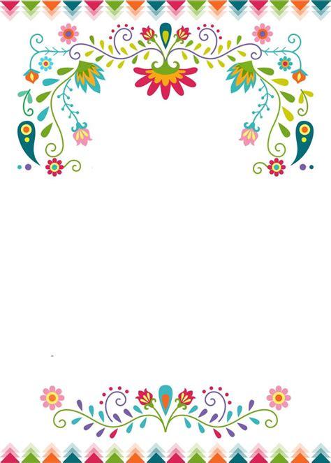 fiesta invitations templates  editable template