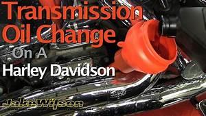 Harley Davidson Transmission Oil Chage