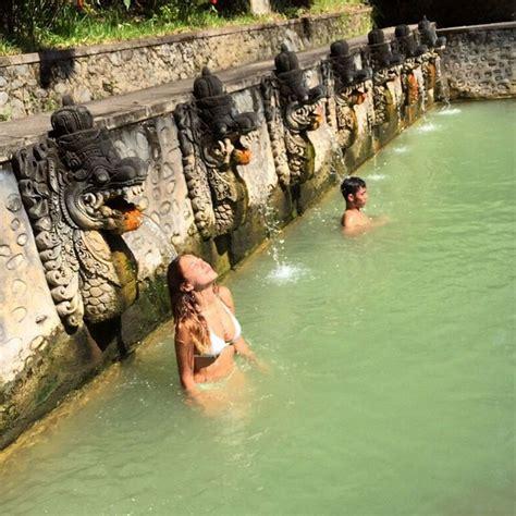 indulgent hot springs  bali   wellness retreat