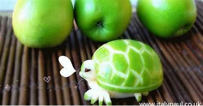 Fruit Carving Apple Edible Vegetable Decoration Lessons