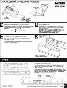 Sargent A7312b Qrk Installation Instructions For 281