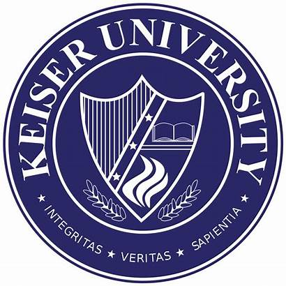 Keiser University College Seal Campus Wikipedia Svg