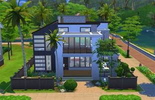 simple floor plans for houses modern charm sims
