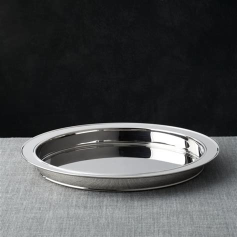 easton stainless steel serving tray reviews crate