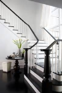 Escalier Repeint En Noir by Grand Escalier Repeint En Noir Et Blanc