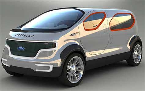 ford airstream concept plug  hybrid hydrogen vehicle