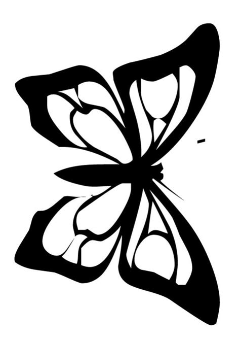 printable butterfly cutouts   clip art