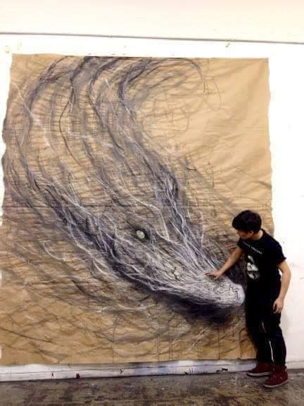 large realistic charcoal drawing  fiona tang xcitefunnet