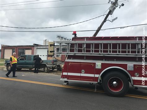 Boat Crash Into Pole by Truck Vs Utility Pole Axle Ripped From Vehicle Injury