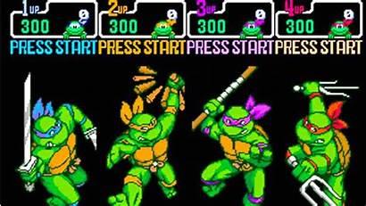 Ninja Turtles Mutant Teenage Games Tmnt Sega