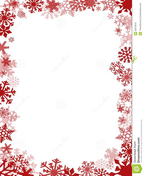 red christmas card frame royalty  stock images image