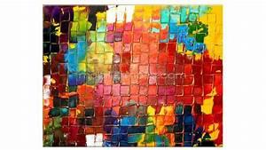 Tableau Peinture Moderne : tableau peinture huile moderne 11 ~ Teatrodelosmanantiales.com Idées de Décoration