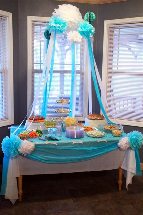 ideas for baby shower decorations baby shower decoration ideas southern couture