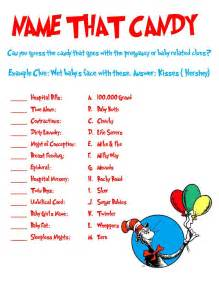 Dr. Seuss Baby Shower Game