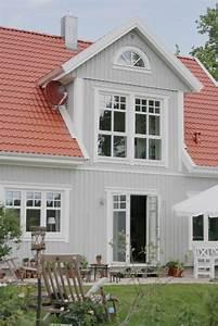 Welche Hausfarbe Zu Rotem Dach Home Ideen