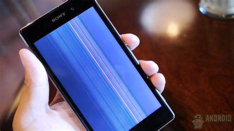 dropped iphone and screen is black xperia z1 drop test the glass the metal and the