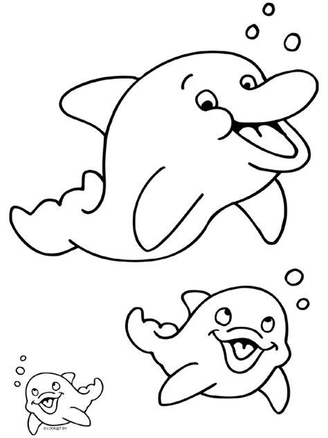 Kleurplaat Waterdieren by Pin Kleurplaten Waterdieren Dolfijn Eend Haai Inktvis Krab