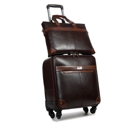 PU Business luggage,Travel bag,Trolley Rod Spinner ...