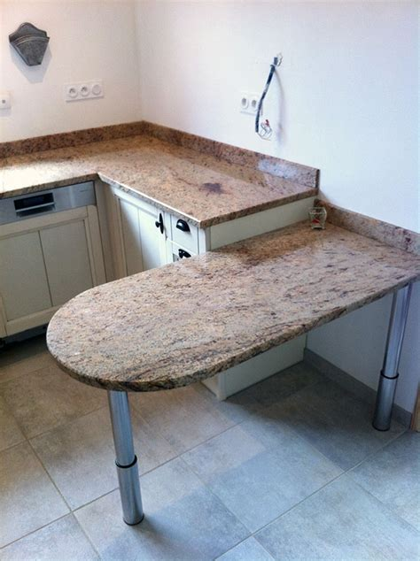 table de cuisine plan de travail plan de travail en granit pour cuisine