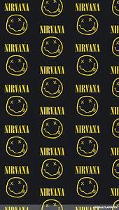 Nirvana Logo iPhone Wallpaper - Music Wallpapers