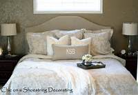 master bedroom bedding Chic on a Shoestring Decorating: Neutral Master Bedroom Reveal