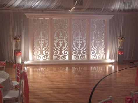 decorate lds gym wedding receptions   side