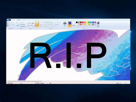 Microsoft About To Kill Iconic Paint Software Estufs