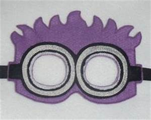leyley39s 1st birthday on pinterest purple minions evil With minion mask template