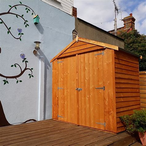 Shire Overlap Windowless Reverse Apex Shed with Double
