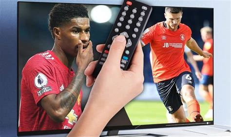 What TV channel is Luton Town v Man Utd in Carabao Cup ...