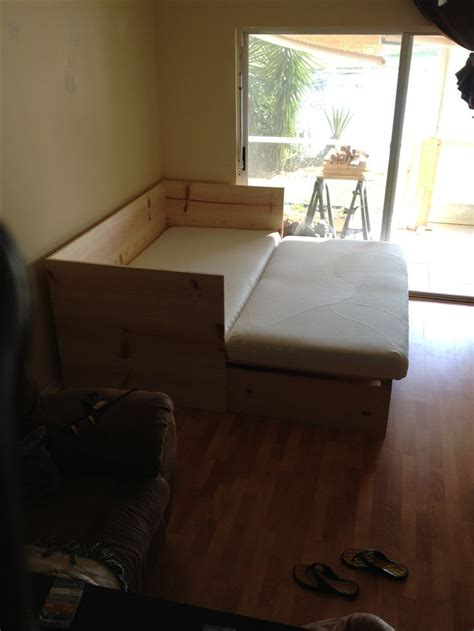 pull out loveseat bed best 25 pull out sofa bed ideas on pull out