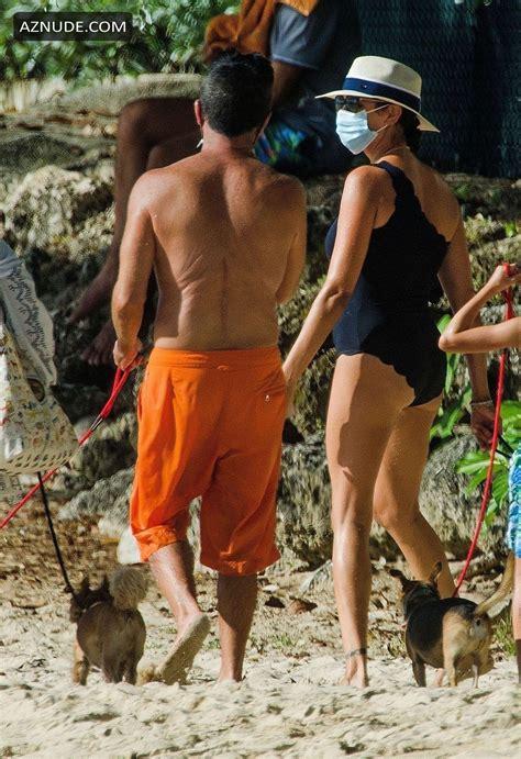 Lauren Silverman Sexy Sunbathing In Barbados Aznude