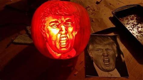 donald trump pumpkin trumpkin carving pumpkins carvings trumpkins funny halloween imgur craze present latest meme these source reddit