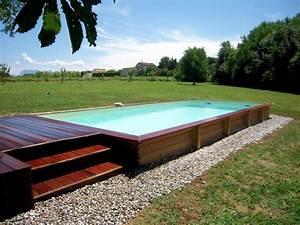 Tour De Piscine Bois : tour de piscine bois id e int ressante pour la ~ Premium-room.com Idées de Décoration