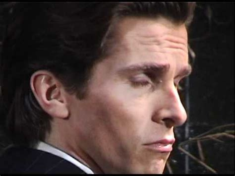 Christian Bale Set American Psycho Youtube