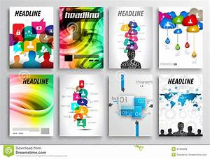Set Of Flyer Design, Web Templates. Brochure Designs ...