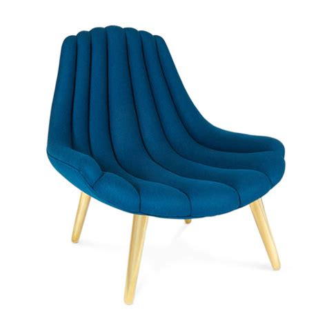 1960s style brigitte lounge chair by jonathan adler