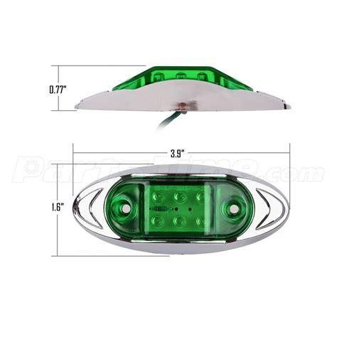 Boat Running Lights by 6pcs Led Marker Running Lights Motorcycles Boat Trucks 6