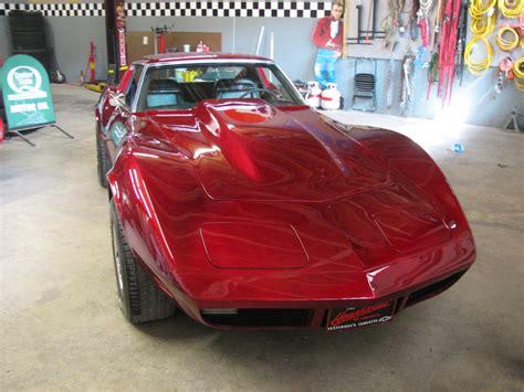 candy brandywine corvette rebel racing kustom paint