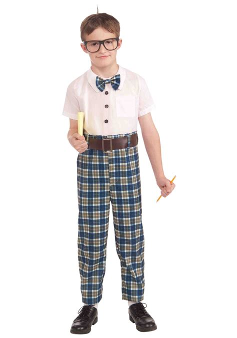 Kids Class Nerd Costume - Geek Halloween Costumes Boys