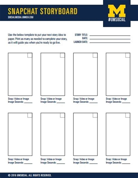 snapchat template 10 storyboard template exles templates assistant
