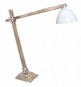 Lampe Sur Pied Bois : luminaires ~ Teatrodelosmanantiales.com Idées de Décoration
