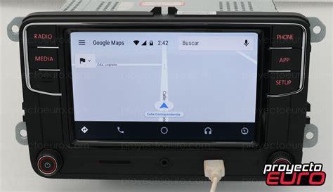 vw rcd 330 vw rcd 330 android auto carplay jetta vento polo en