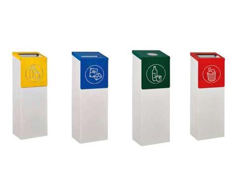 poubelle de bureau tri selectif corbeilles de bureaux fenix i bureau