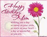 Birthday card messages for mom. Birthday Wishes MoM « Birthday Wishes